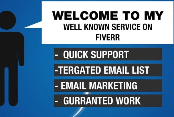 business Targeted Email List and Template Design