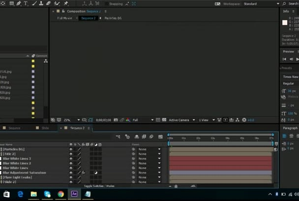 edit After Effects templates in 24 hours