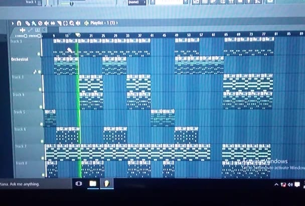 compose and produce songs professionally