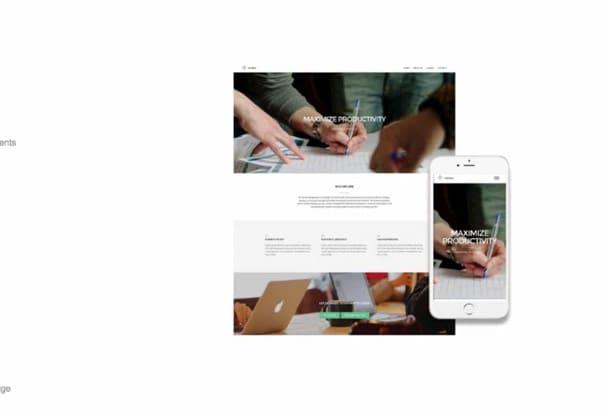 make you a WEB designer