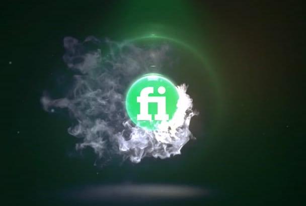 do this AMAZING fire logo reveal