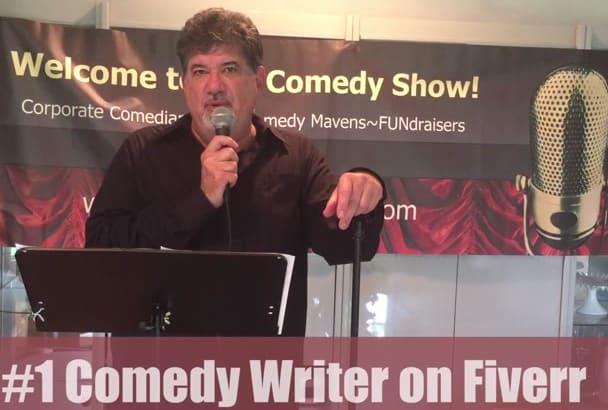 write ORIGINAL comedy as a pro comedy writer