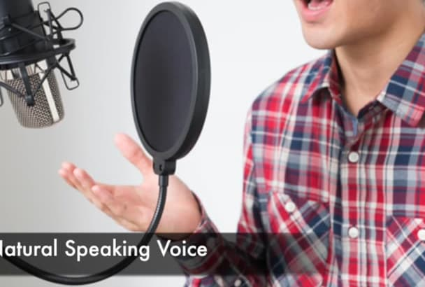 record a high quality MALE Japanese voice over