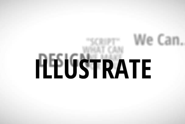 create Kinetic Typography in 2 just days