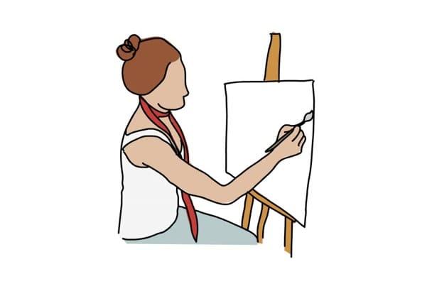 draw your portrait into a unique artistic sketch