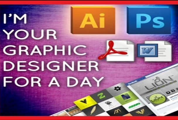 do graphic design work