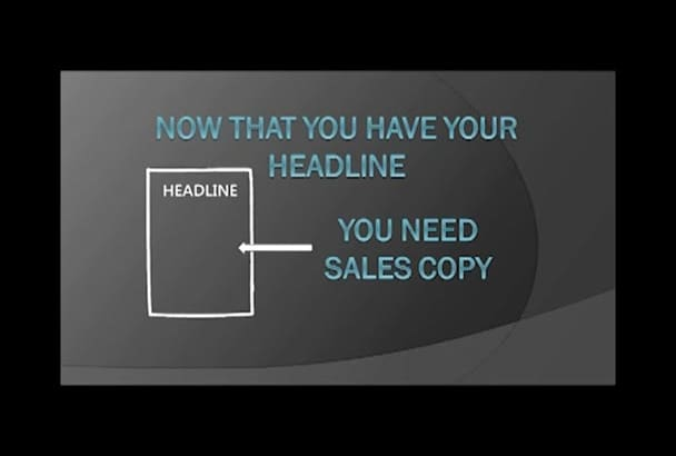 create sales copy that converts for your Sales page