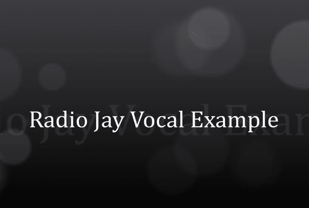 voice and produce your DJ drops