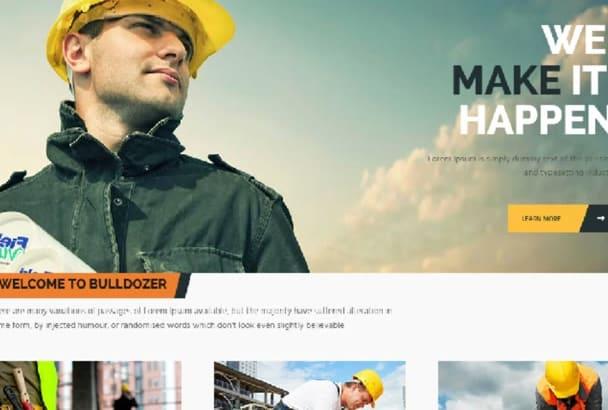 make responsive HTML Bootstrap website