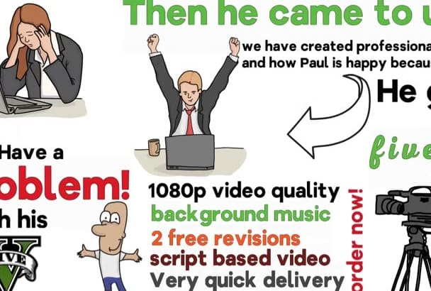 create professional whiteboard animation for promotion