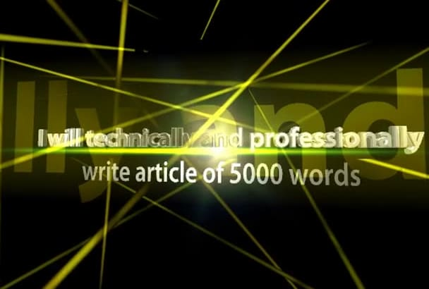 technically and professionally write article of 1500 words