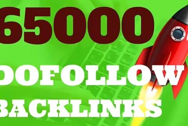 65000 DOFOLLOW bullet proof seo backlinks
