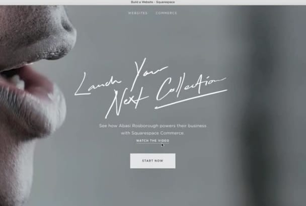 create Typography Style Guide for your Squarespace website