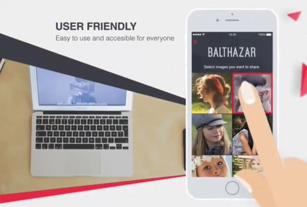 create app promotional video for android and ios