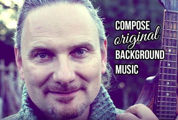 compose unique background music
