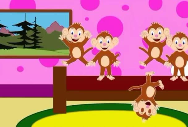 make a short animated cartoon