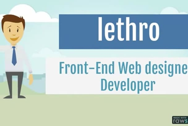 convert your psd to  responsive html website