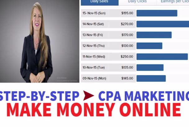 give step By Step CPA Marketing to Make Money
