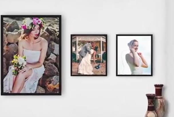 make an amazing Video Slideshow for your wedding or any event