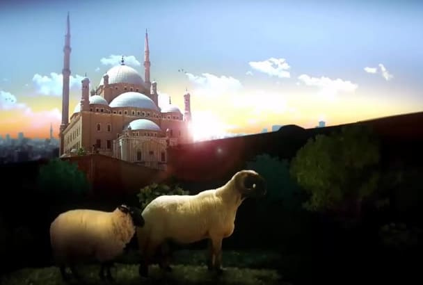 make this amazing EID adha opener intro