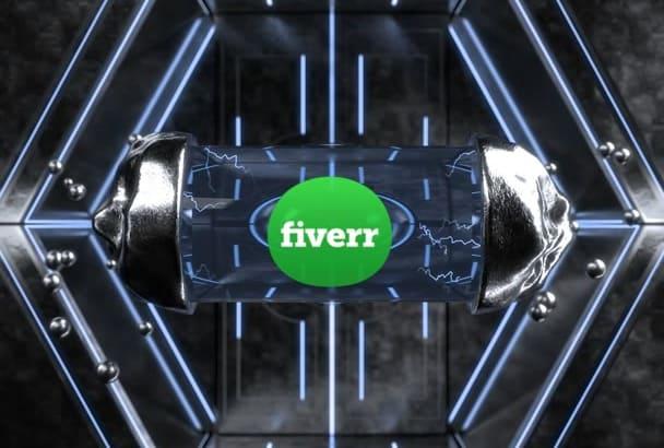 create 3D Alien Tube Logo Animation Video in HD