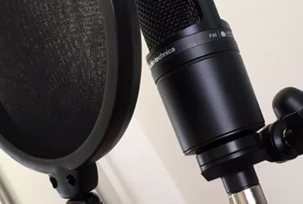 record a Professional 300 word American Male VoiceOver