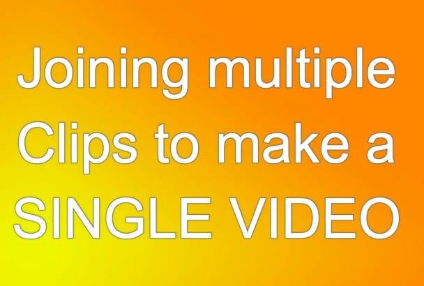 do BASIC video editing