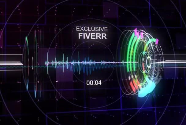 create Techno Trance DJ Music Spectrum Audio Video Visual