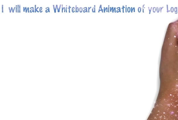 do a Whiteboard Animation of YOUR Logo