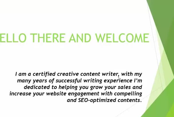 write your complete website content professionally