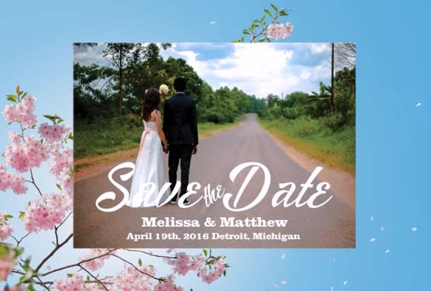 create beautiful save the date cards