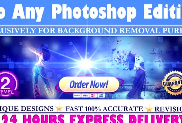 do any Photoshop Editing