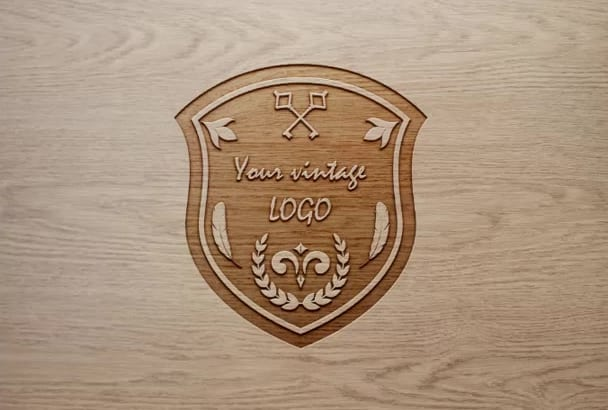 design a VINTAGE or retro logo for you