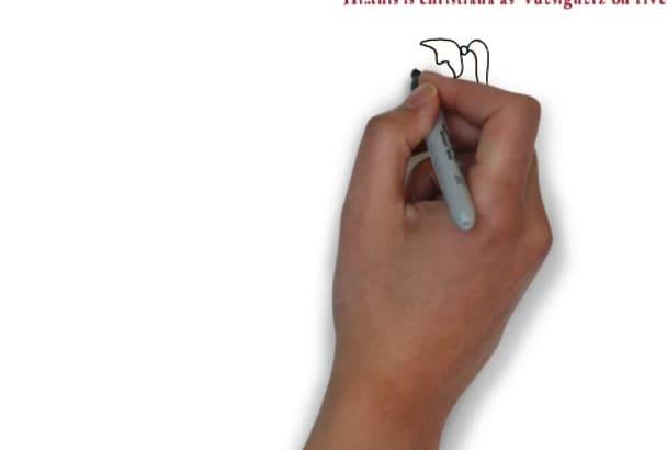 create a professional HD whiteboard video