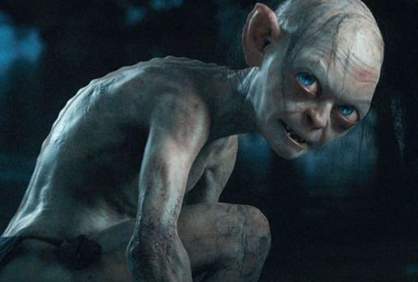 read up to 100 words in the voice of Smeagol