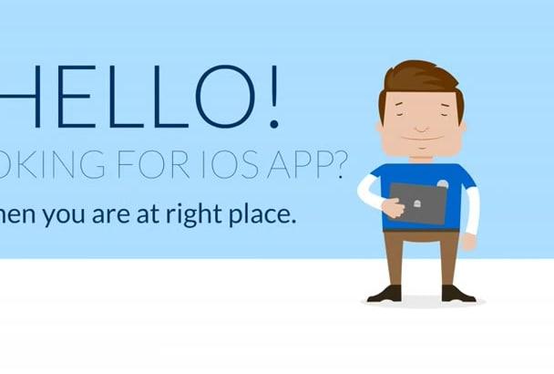develop native iOS app