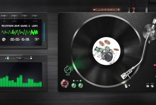 give you over 10,000 Rap,HipHop and Trap Music Drum Sounds