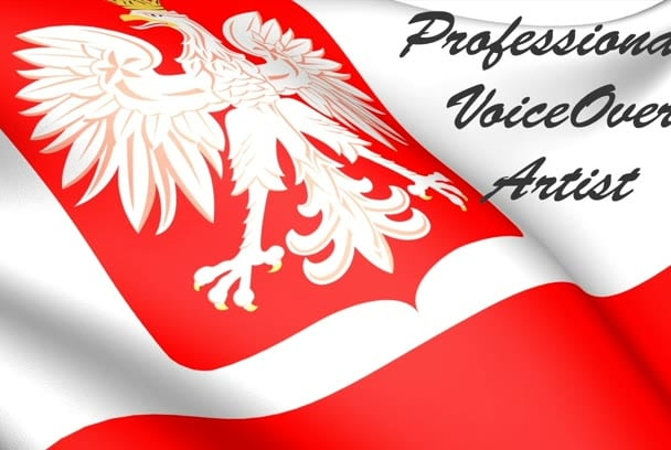 record a professional polish male voice for multimedia