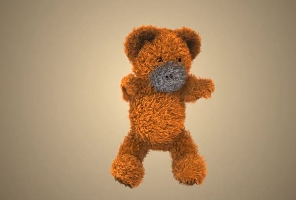 make teddy bear dance and show your message