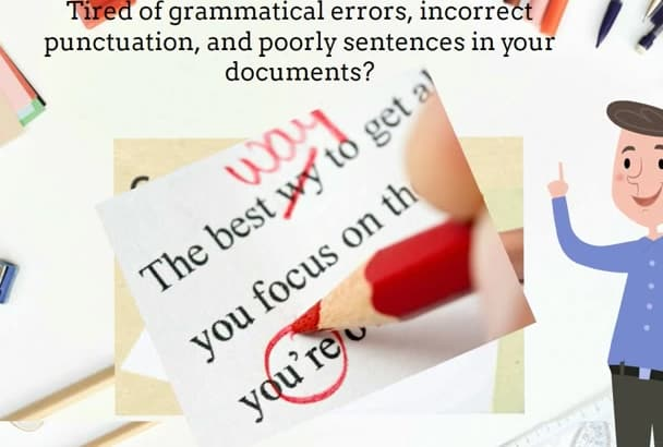 proof read and edit up to one million words