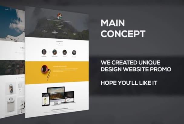 create a professional wordpress website or design website