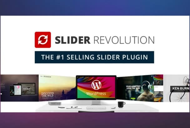 create awesome animated Revolution Slider