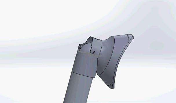 design a 3D model on solidworks
