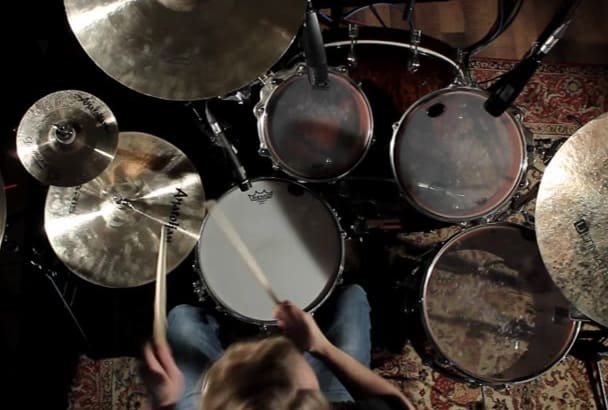 film a Full HD drum video for your song