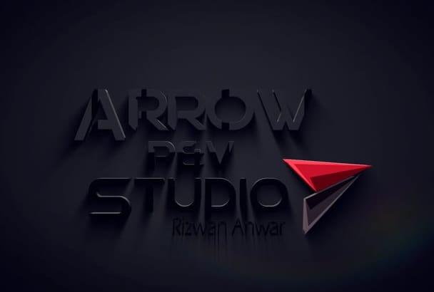 create Amazing logo reveal