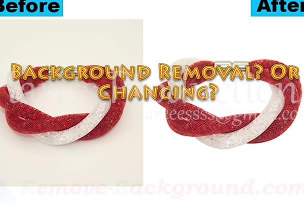 photoshop remove change the Background