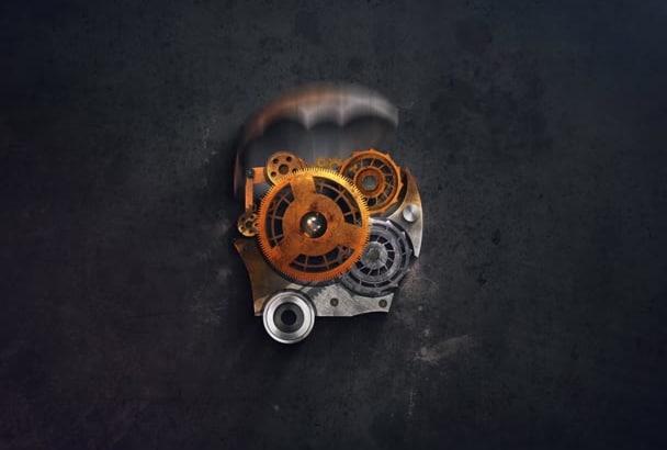 create an amazing steampunk video intro