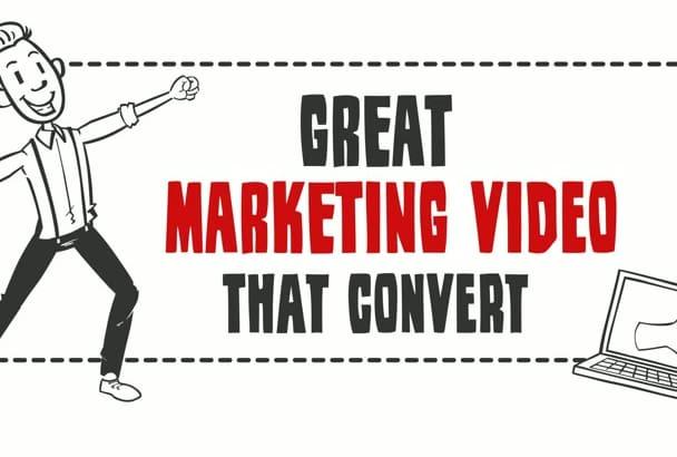 create a whiteboard explainer video