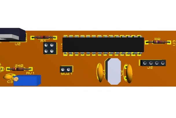 design a PCB ready to be manufactured at home