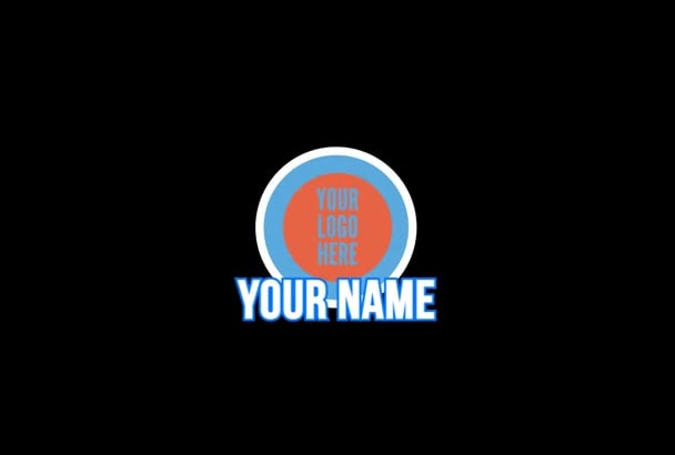 create  a professional looking 2D intro
